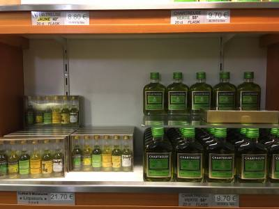 Exemple de produits dans la boutique