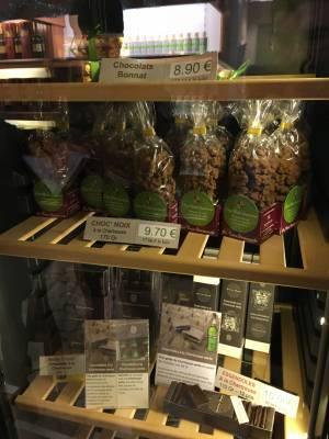 Chocolats et autres pralines à la Chartreuse