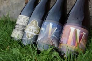 Les bières de la brasserie de Jandrain-Jandrenouille
