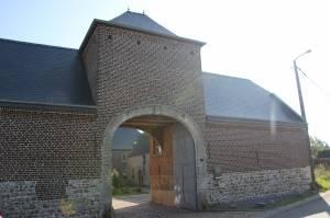 Entrée de la brasserie de Jandrain-Jandrenouille