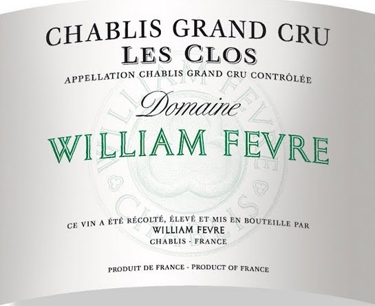Les Clos 2011 William Fevre, Chablis Grand Cru