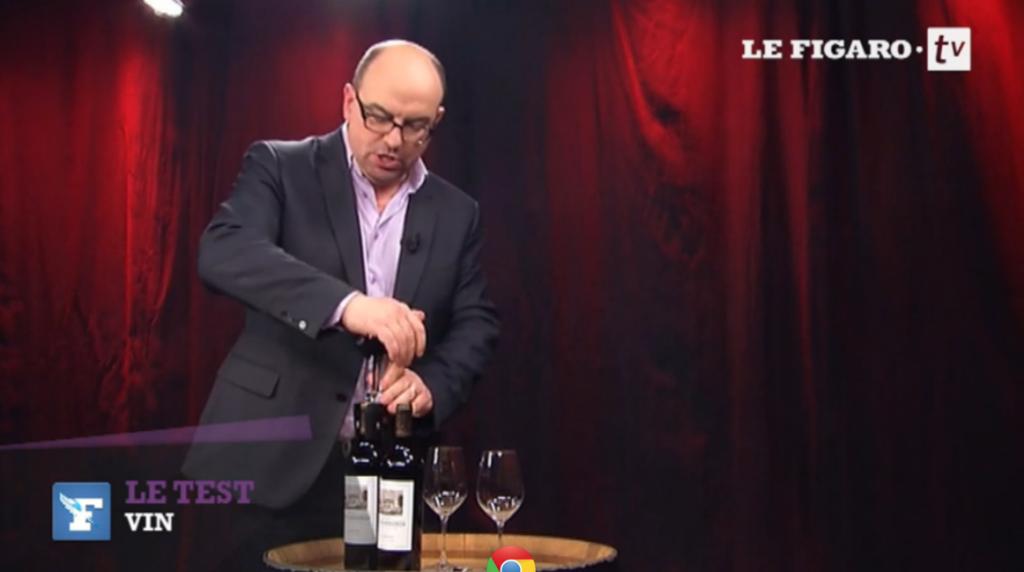 Essai du Coravin par Figaro TV