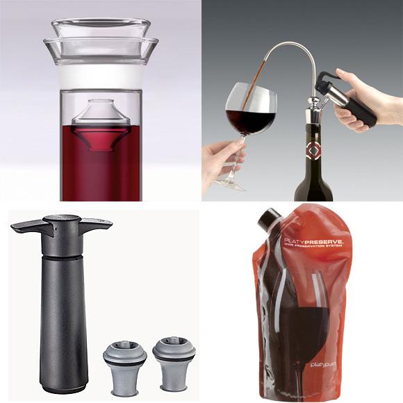 Quelques moyens de preservation du vin