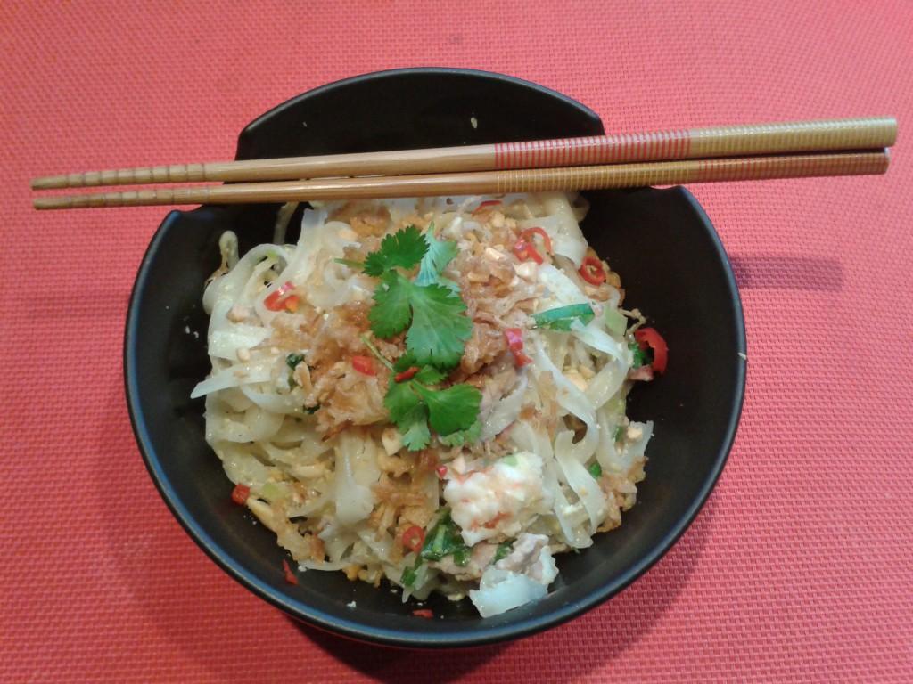 Pad Thai, nouilles de riz thailandaises