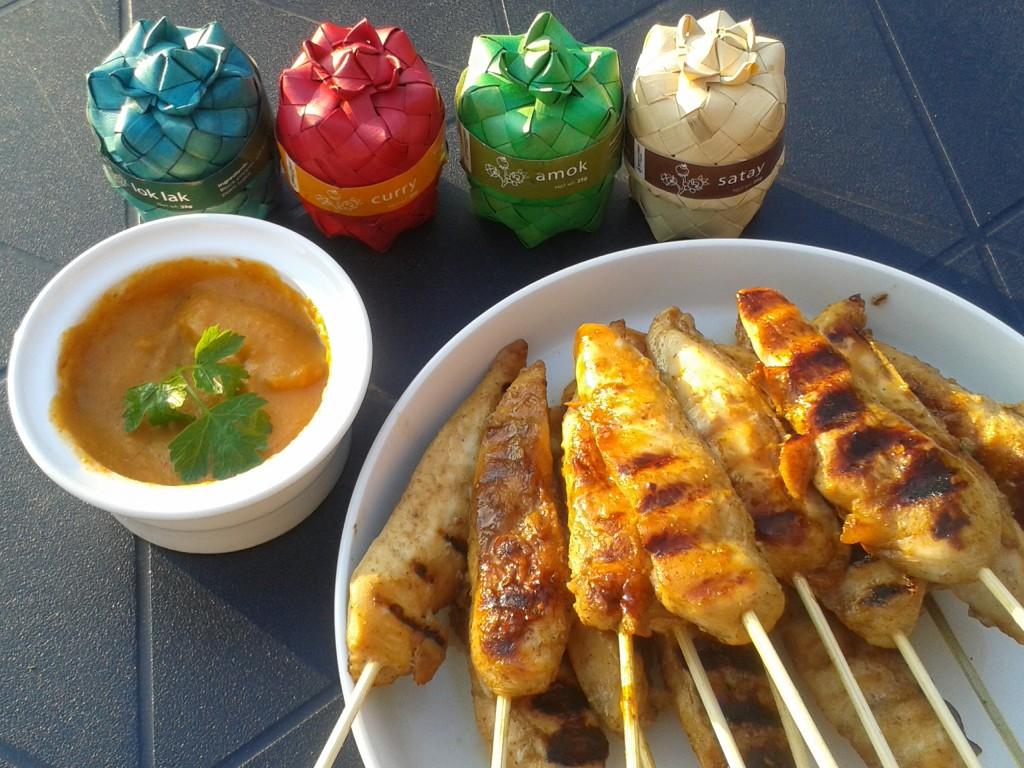 Satays de poulet - taste from Thaïland