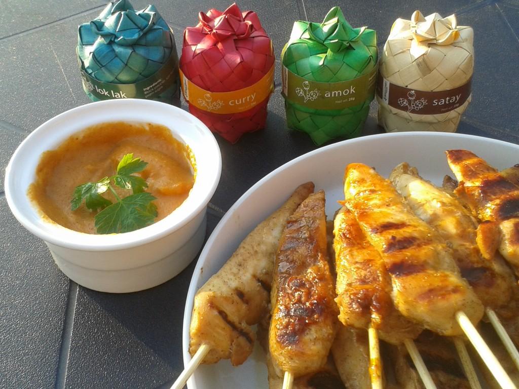 Satay de poulet - Délice de ThaIlande