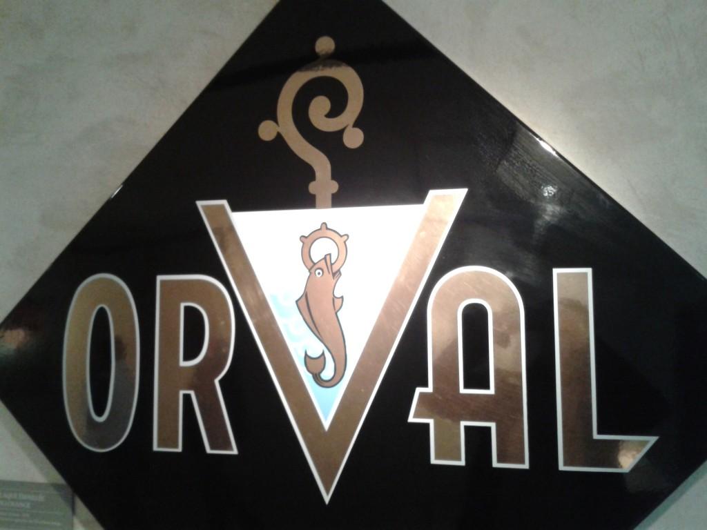 Symbole d'Orval: la truite et l'anneau
