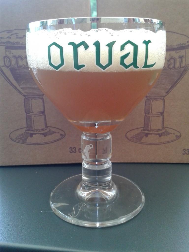 Le petit Orval et son verre unique