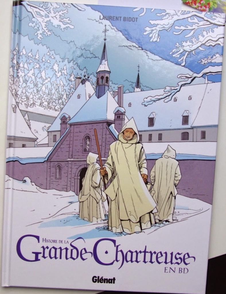 L'histoire de la Grande Chartreuse en BD par Laurent Bidot