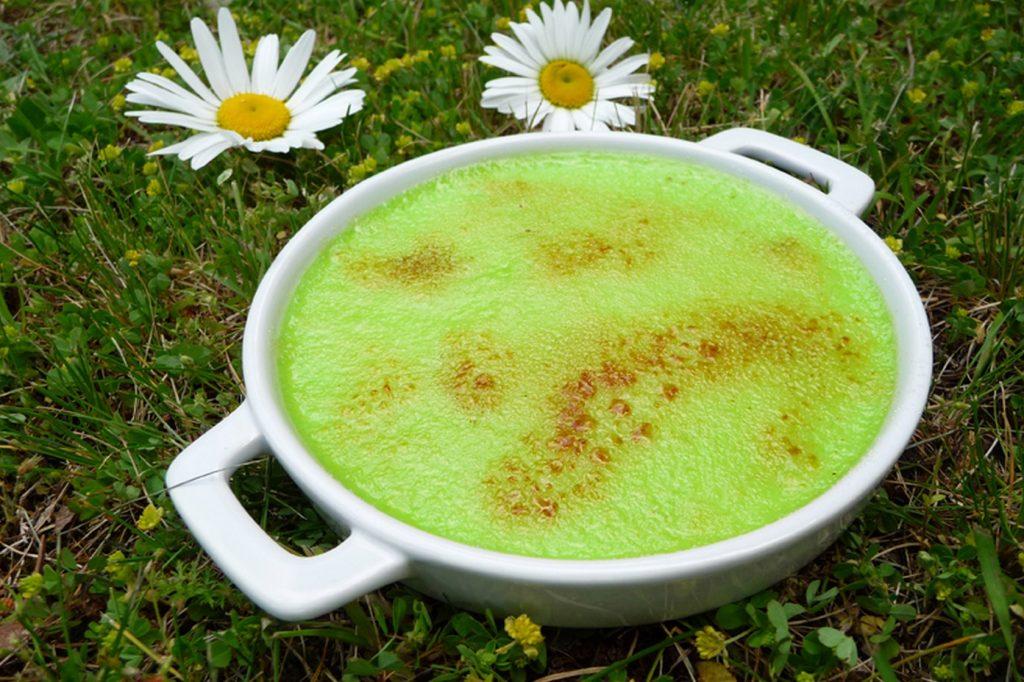 Crème brûlée à la Chartreuse