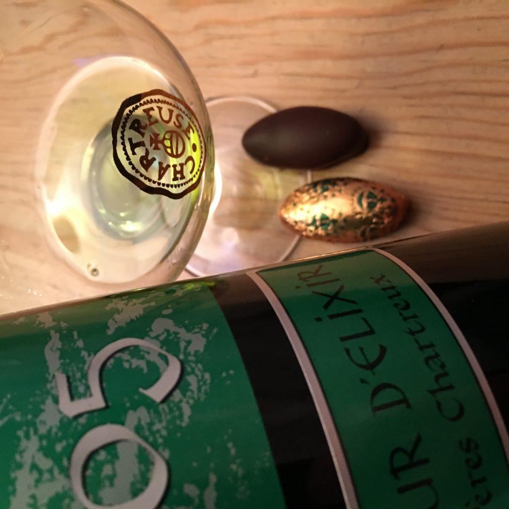 Pralines à la Chartreuse chez Bonnat (Voiron)