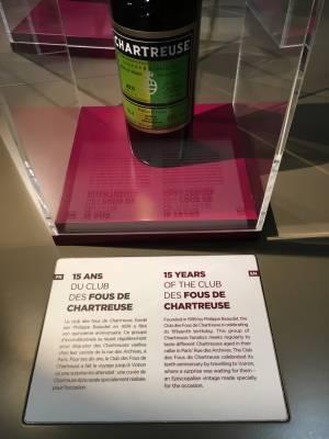Cuvée spéciale pour les 15 ans du club des fous de Chartreuse