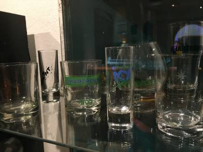 Collection de verres de Chartreuse