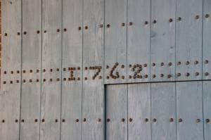 La ferme date de 1762