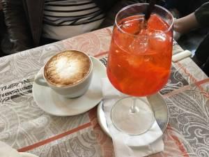 Capuccino pour Madame et Spritz Aperol Prosecco pour Monsieur ?